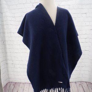 Raph Lauren cashmere Navy blue scarve